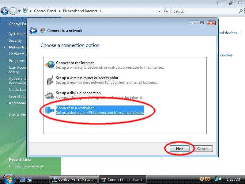 Manual VPN Windows Vista Liberty Shield