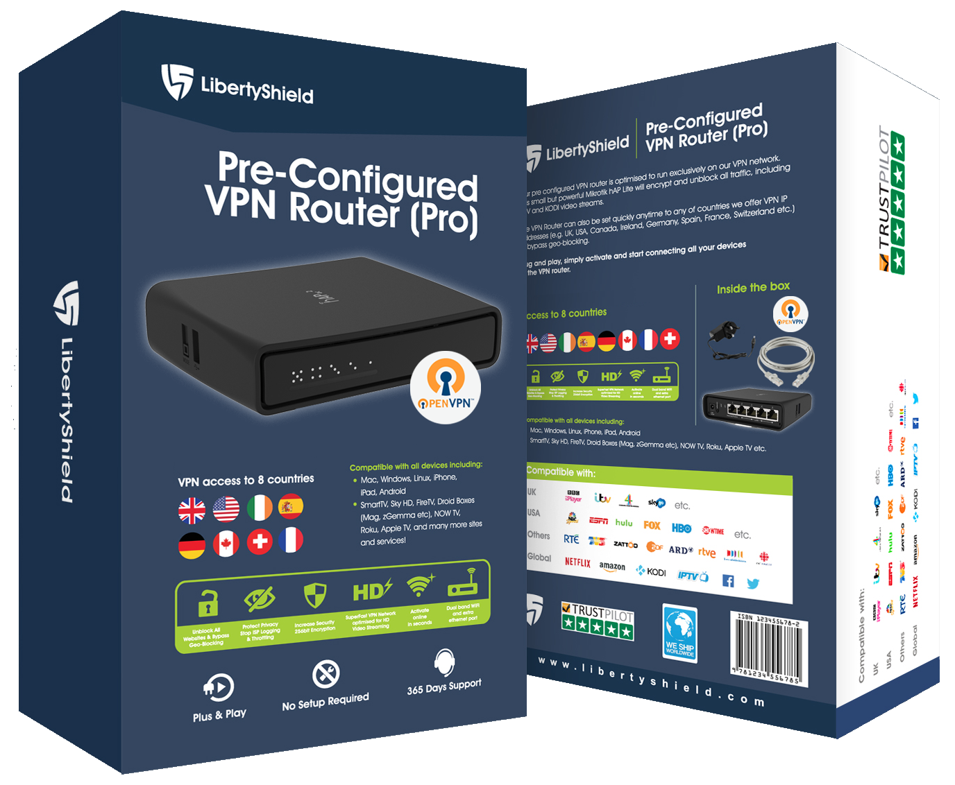 What's the difference between the PRO and LITE VPN Routers